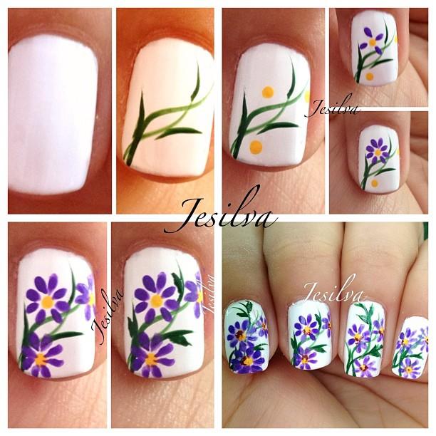 65 Diseños de uñas decoradas paso a paso muy bonitos y creativos