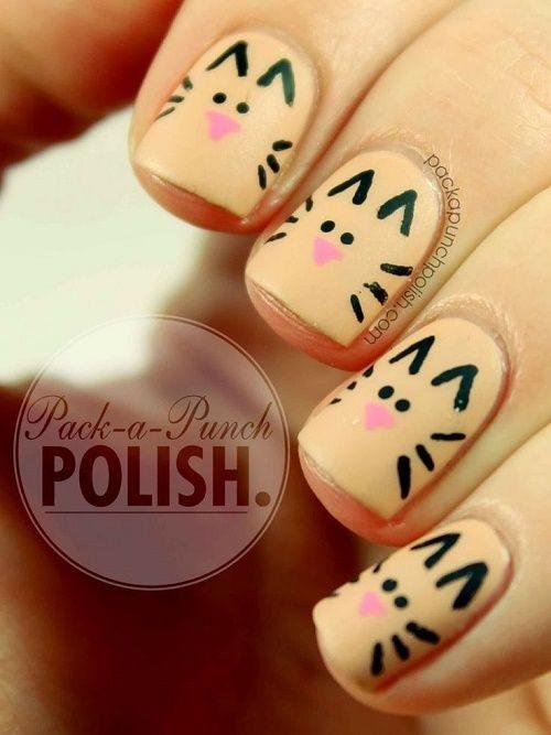 95 Diseños de uñas decoradas para niñas fáciles y bonitas