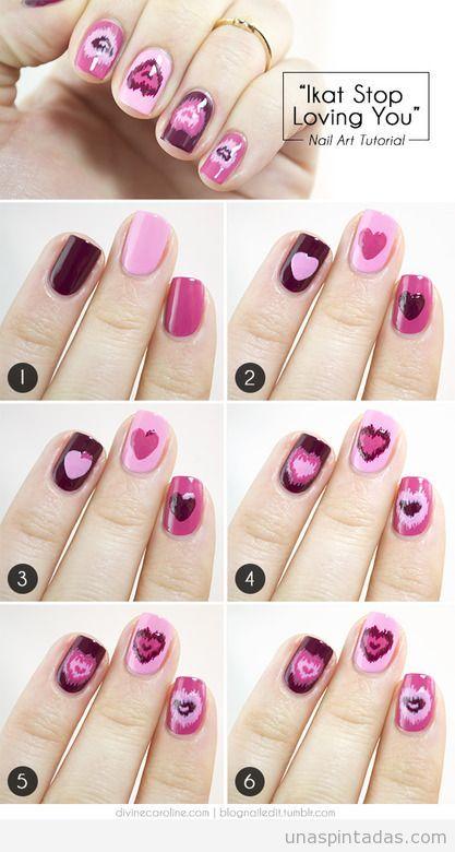 Decoración de uñas cortas 85 diseños fáciles, bonitos y originales