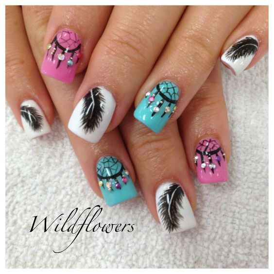 Dibujos de uñas de pies
