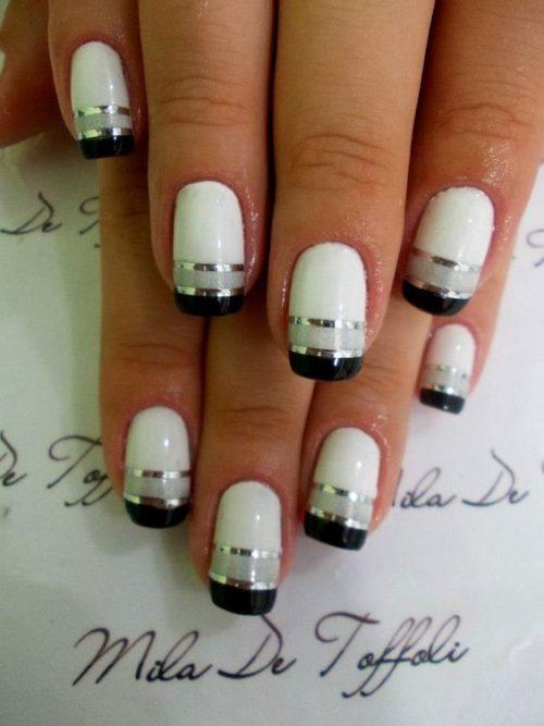 Uñas acrílicas, uñas de gel y uñas de porcelana: fotos, diseños ...