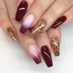 nail art color vino New 2420 best images about coffin nails design on pinterest