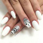 Extraordinary Nail Plan To 25 beautiful Black white nails ideas on Pinterest